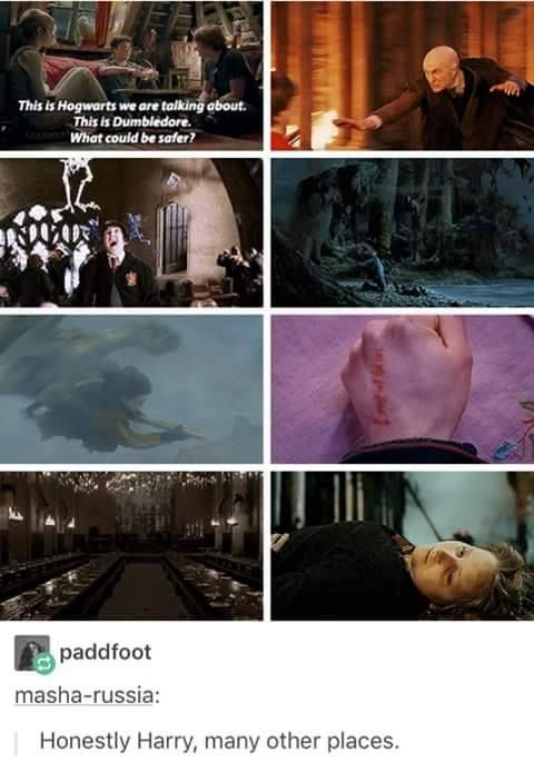 This is why harry isn't in ravenclaw