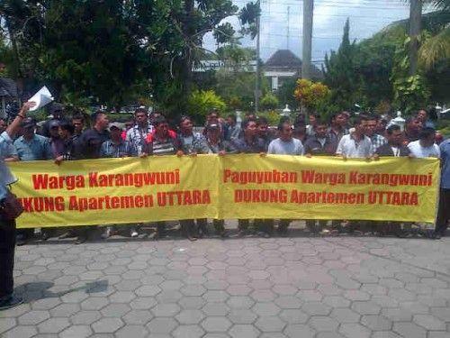Dukungan warga Karangwuni atas apartemen cantik Uttara The Icon di Yogyakarta, rumah tinggal dekat kampus UGM.