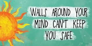 Walls around your #mind can't keep you safe   Pinned by KarmicFit   #karmicfit #fitness #exercise #health #mindbody #yoga #life #quotes #wisdom #thoughts #inspiration #motivation