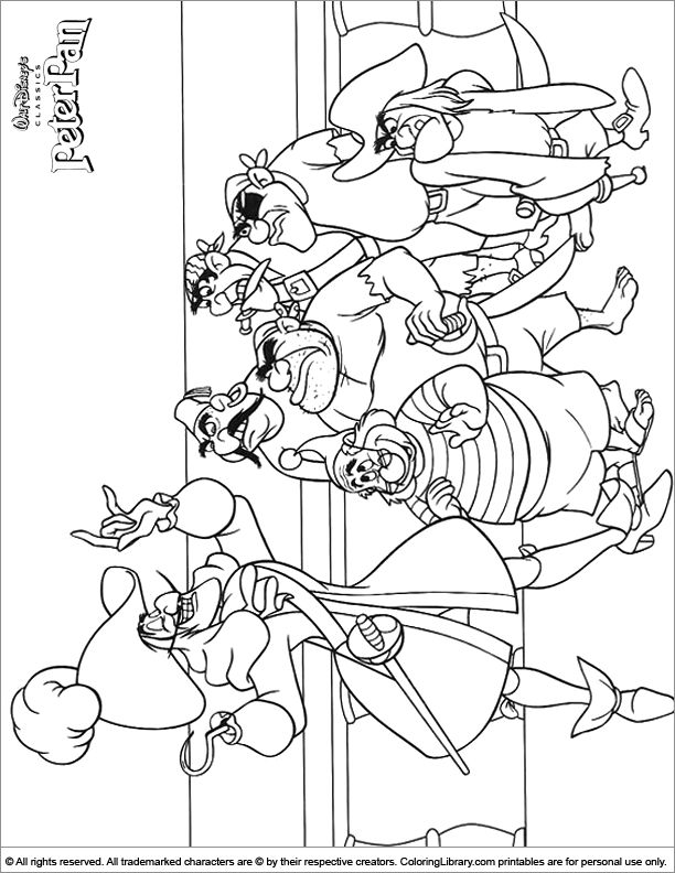 peter pan 2 coloring pages - photo#18