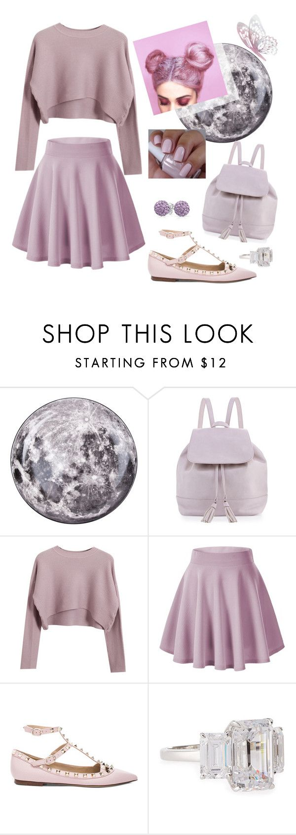 """Back To School ; Lavande"" by mgldemartino ❤ liked on Polyvore featuring Seletti, Neiman Marcus, Chicnova Fashion, Valentino, Fantasia by DeSerio, Bling Jewelry, BackToSchool, valentino and lavande"