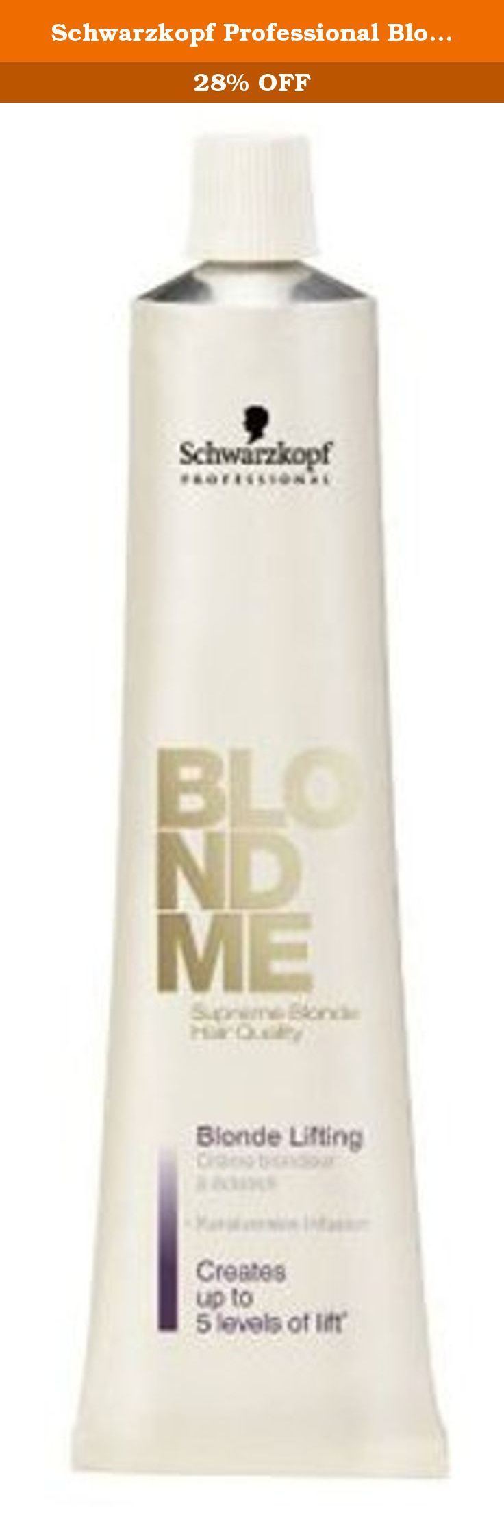 Schwarzkopf Professional Blond Me Blonde Toning - Sand - 2.1 oz. What it is: The new BLONDME toner color formula contains support POLYMERS. What it does: Can be mixed with the BLONDME Brightening and Weisskaschierungs creme. What else you need to know: Low ammonia content for a more gentle hair color. Potential for infinite creativity.