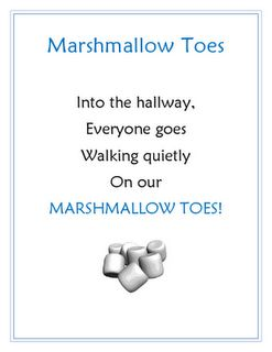 Who wouldn't want to have marshmallow toes