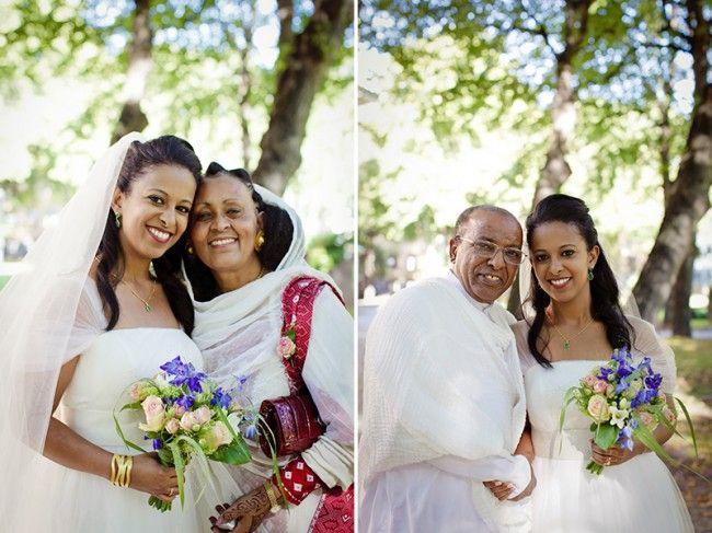 Un mariage suédois aux notes érythréennes : {Sara & Joakim}   My Cultural Wedding Chic http://beautifulbrownbride.blogspot.com/