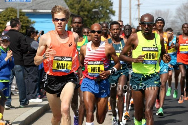 American Strong: The Untold Story of American Teamwork and How Ryan Hall Helped Meb Keflezighi Win Boston