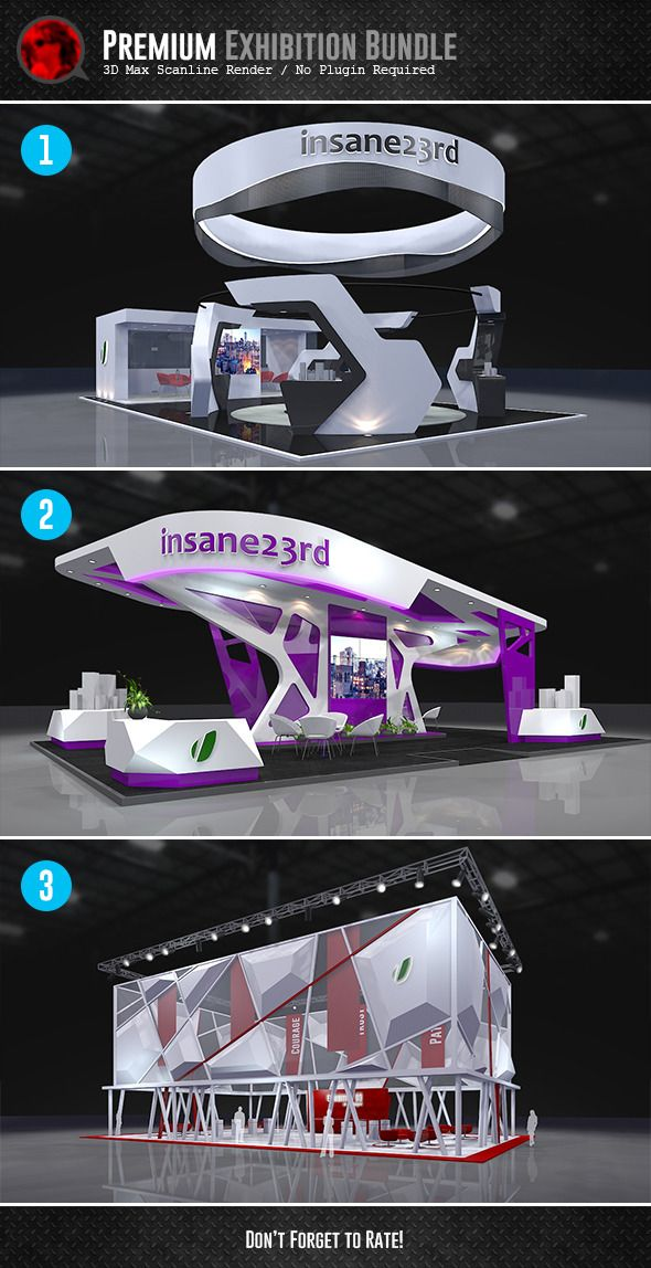 Expo Stands For Sale : Bundle premium exhibition design booths docean item for sale