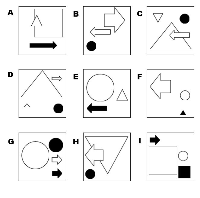 Abstract reasoning tests - sample questions