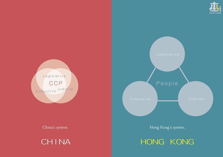 'Hong Kong is Not China': Artist's Illustrations Go Viral