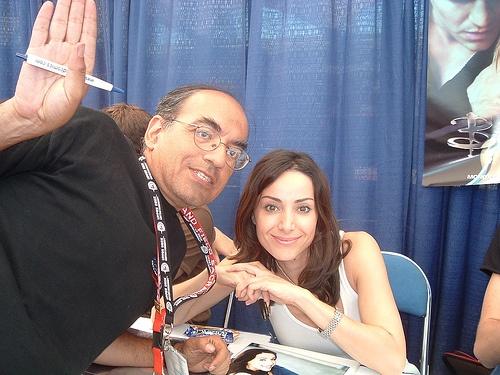 Remember Jenny Calendar! It's Robia LaMorte at Comic-Con 2006  by impalergeneral, via Flickr