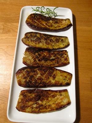 Grilled Japanese Eggplants. #paleo