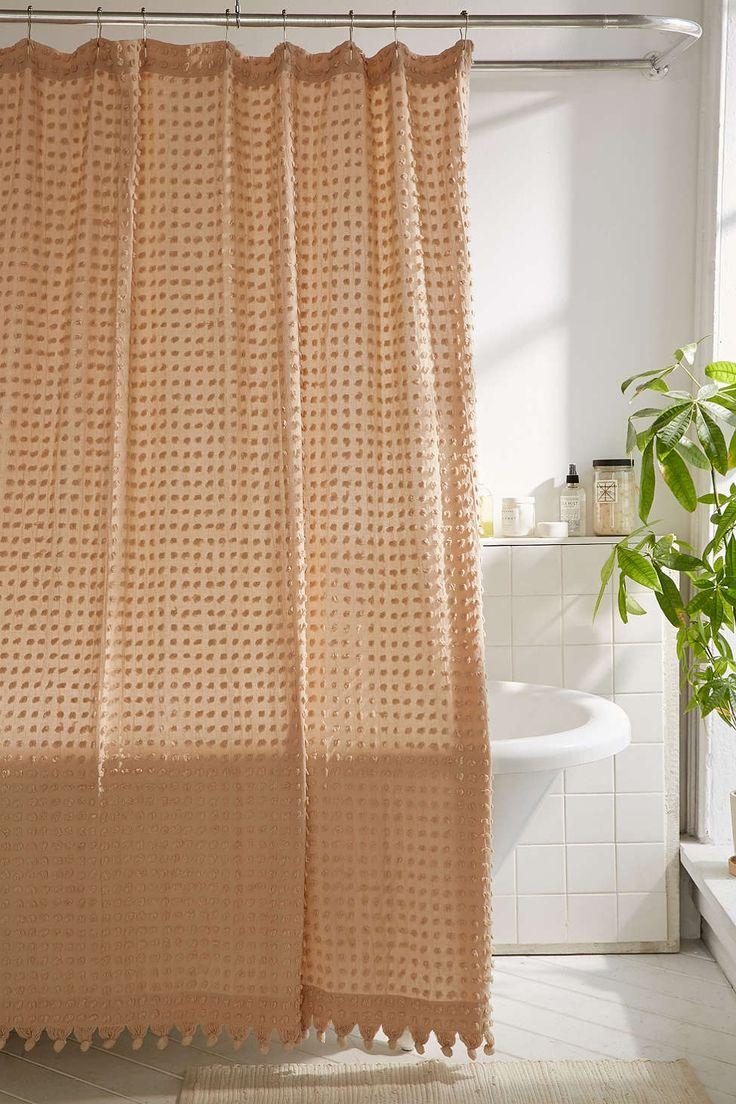 Create Photo Gallery For Website Plum u Bow Pompom Dot Shower Curtain
