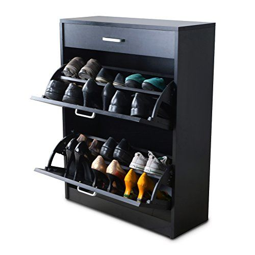 wont fit paulu0027s shoes gls black modern shoe cabinet with doors wooden rack chest for entryway