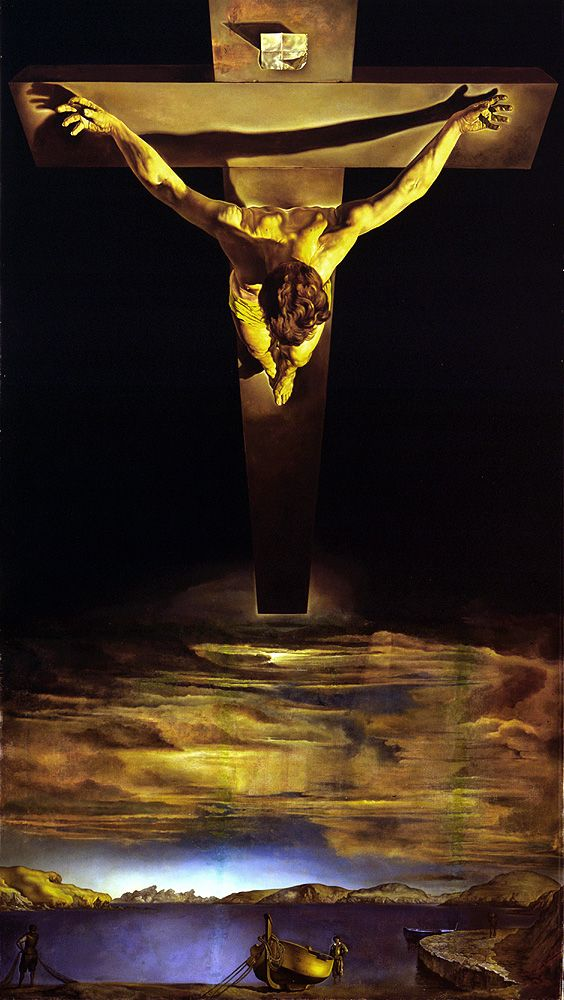 """""""Eloi, Eloi, lama sabachthani?"""" I've always loved this, the crucixion from the Father's perspective"""