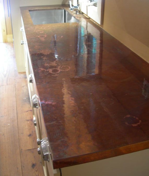 15 Marvelous Cheap Counter Top Ideas Copper Countertops