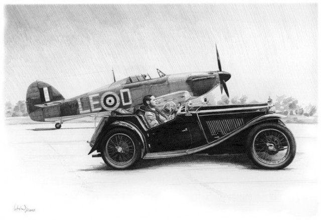 Fine British machinery of the past