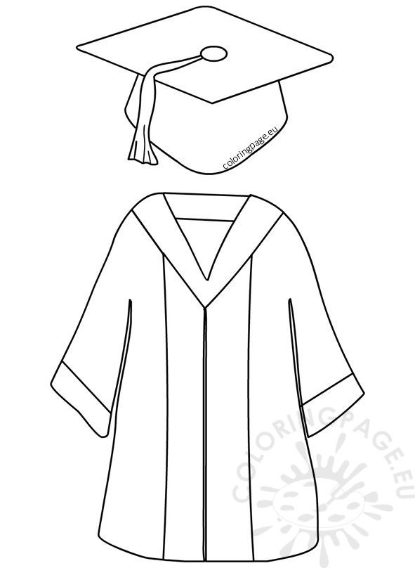 Preschool Graduation Cap And Gown With Images Graduation Cap