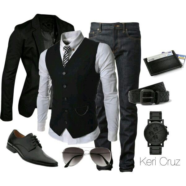 black blazer shoes