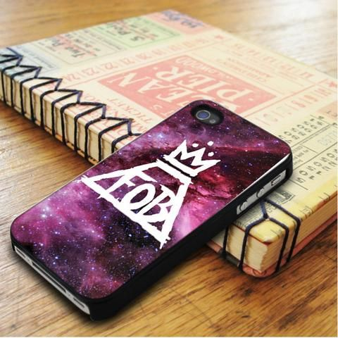 Fall Out Boy Logo Nebula iPhone 5|iPhone 5S Case