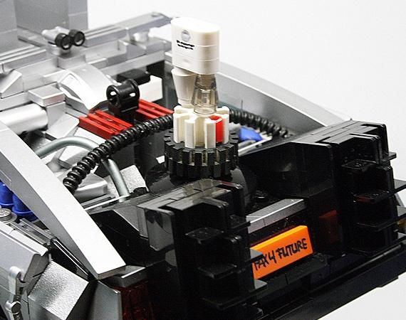Back To The Future II DMC DeLorean LEGO Replica by Orion Pax (3)