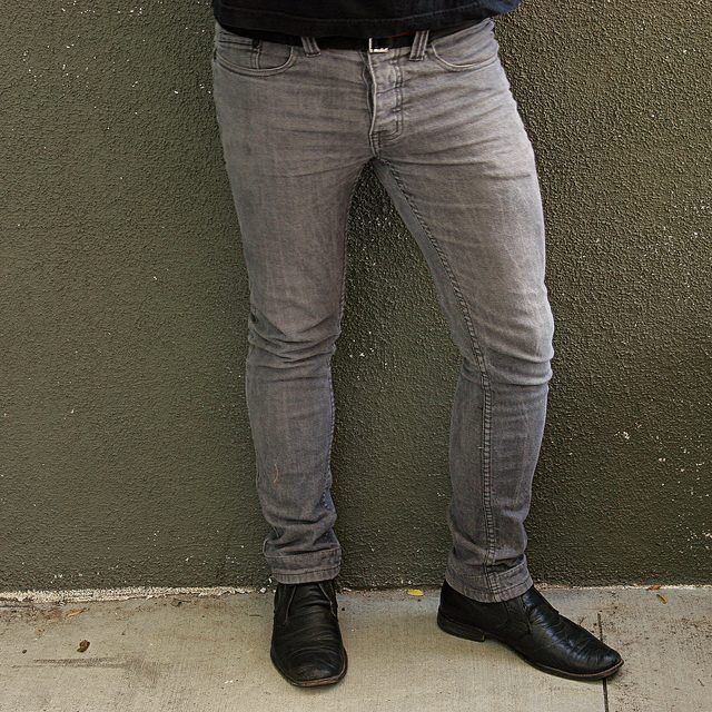 How to Make Skinny Jeans Without Sewing, Cutting or Pins