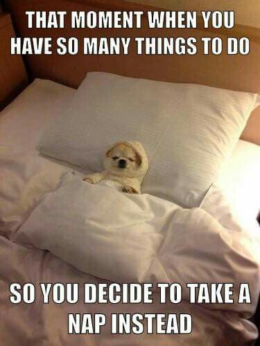 How good's a nap