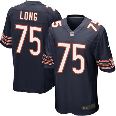 Chicago Bears Home Game Jersey - Kyle Long: Chicago Bears Home Game Jersey - Kyle Long  TEAM LOYALTY, EVERYDAY COMFORT  Represent your…