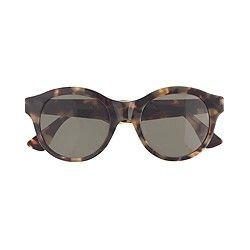 mode-sonnenbrille 8637 bunte sonnenbrille retro-metall-sonnenbrille silberrahmen blau Linse OWlcas