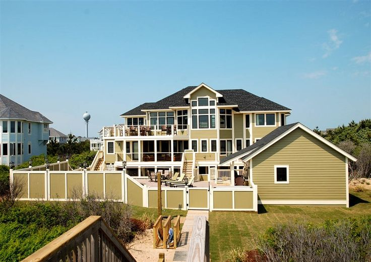 Twiddy Outer Banks Vacation Home - Sweet Caroline - Corolla - Oceanfront - 9 Bedrooms     ( ONLY A DREAM)