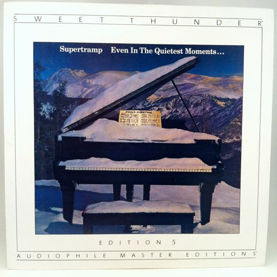 Supertramp Even In The Quietest Moments Vinyl Record Lp