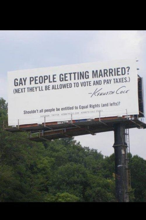 Gay Marriage, Equality Right, Stuff, Quotes, Kenneth Cole, Funny, Get Married, Things, Marriage Equality