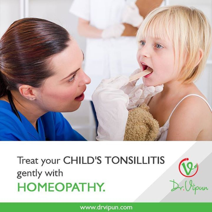 Treat your Child's Tonsillitis Gently with Homeopathy.  For More Details Visit : http://www.drvipun.com/