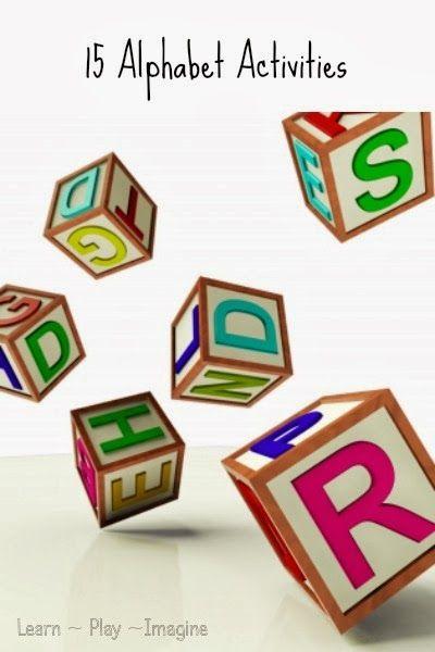 15 alphabet activities for preschool