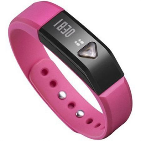 """I5 0.49"""" OLED IP67 Bluetooth V4.0 Smart Wristband Bracelet /Sports /Sleep Tracking - Rose"""