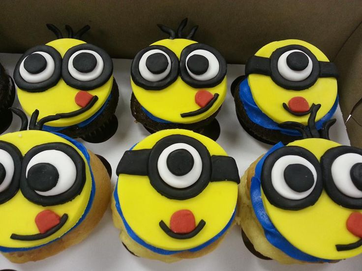 Minion Cupcakes Despicable Me Www Carrentals Com