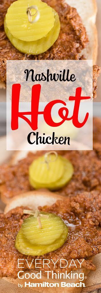 Nashville Hot Chicken Pinterest Graphic