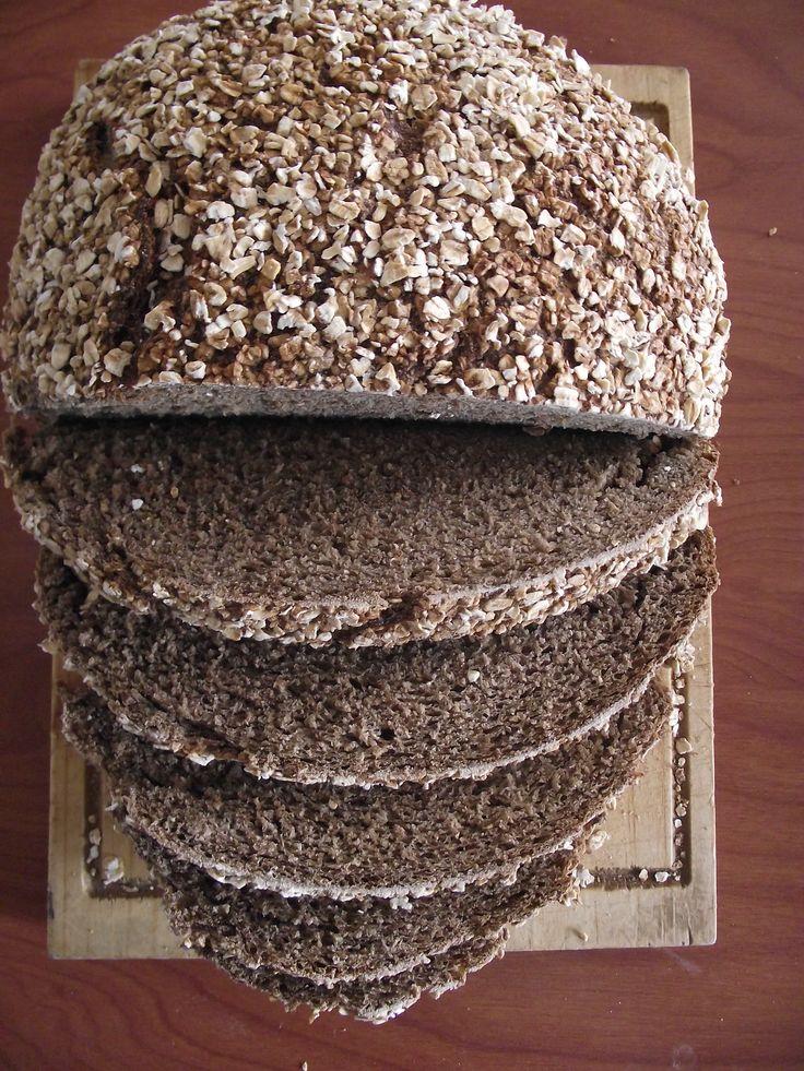 Pan de centeno, cerveza y miel