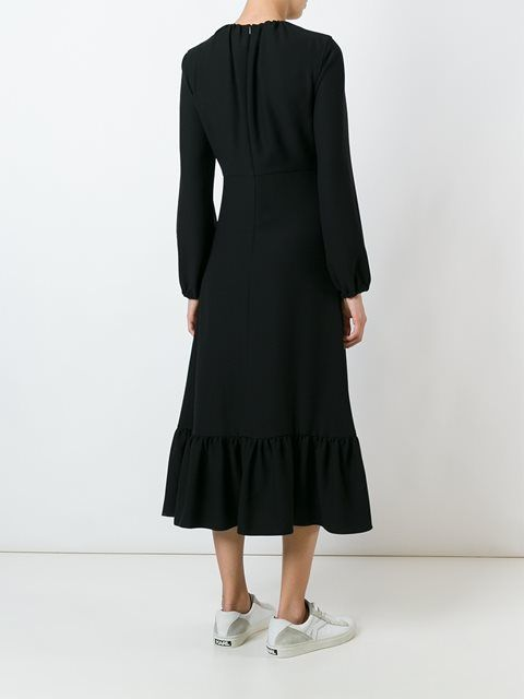J.W.Anderson длинное платье с оборками
