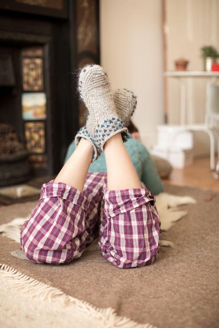 cadeautje thrummed slippers