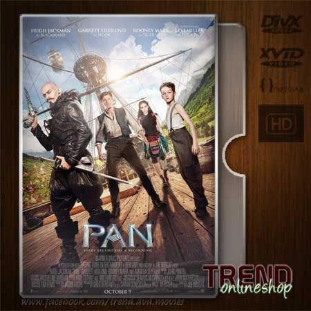 Pan (2015) / Levi Miller, Hugh Jackman / Adventure, Family, Fantasy / Ind / 1080p   #trendonlineshop #trenddvd #jualdvd #jualdivx