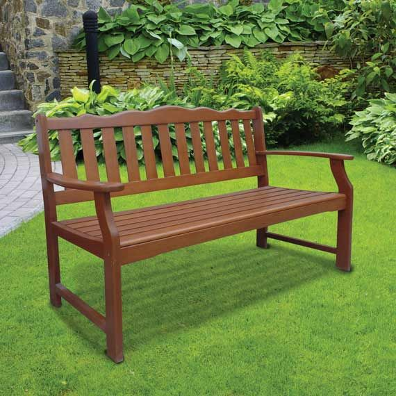 Wooden Park Bench at homestore   more  59  Park BenchesGarden Furniture. 69 best Front of house images on Pinterest