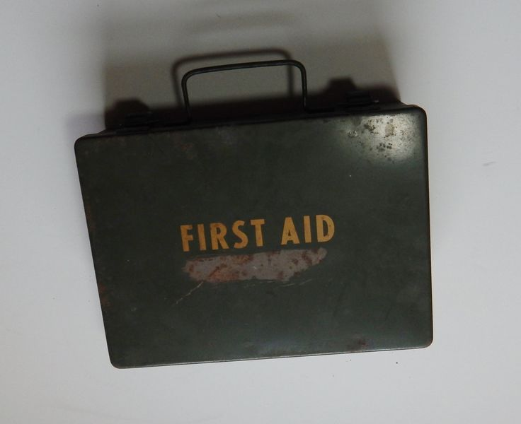 Vintage Military First Aid Kit Bell System Vietnam Era 1964 Olive Drab Medical Metal Box & Contents 60's Militaria Collectibles by OffbeatAvenue on Etsy
