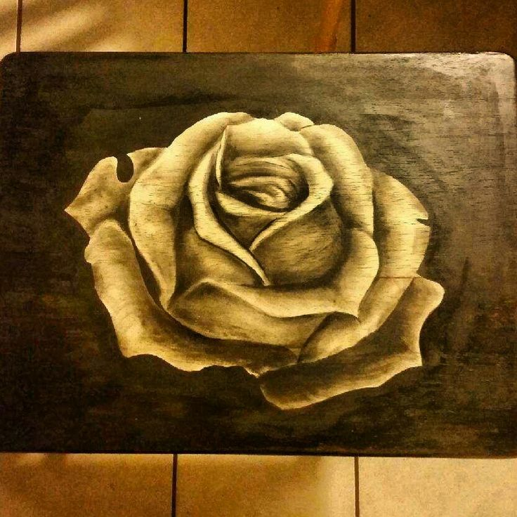Wood Stain Shading On Tray Table Diy Woodwork Art