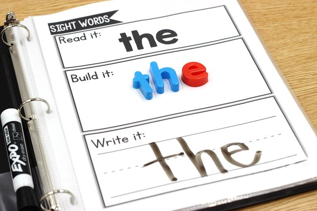 A Binder of Literacy Centers {with a free sample!}