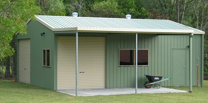 Updating The Shed: Garage, Shed And