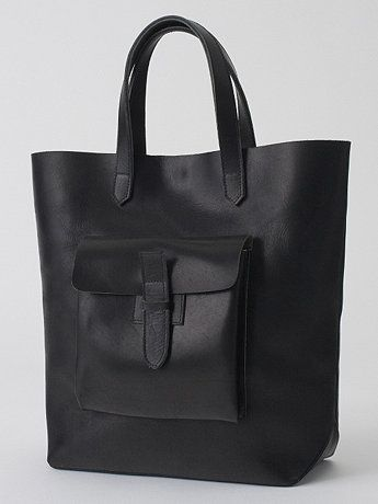 Leather tote from American Apparel