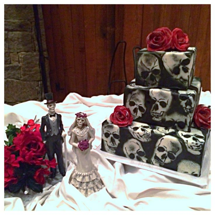 unique halloween wedding invitations