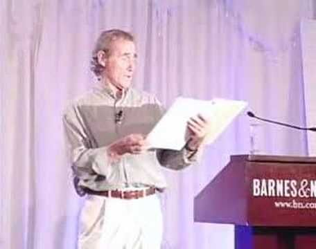 Jim Dale reads Harry Potter in Barnes and Noble party [Part 1 of 6]