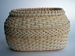 oval braid basket