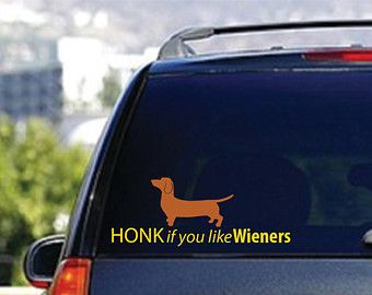 Popular items for funny car decal on Etsy
