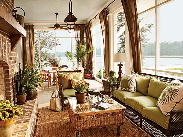 1000 Images About Sunroom Window Treatments On Pinterest